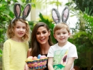 Easter Antics for the Launch of the 'Boora Bunny Egg Hunt'