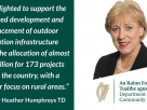 Minister Humphreys and Failte Ireland announce €3.2 million in ORIS funding for outdoor recreational amenities.