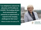 Our Rural Future: Minister Humphreys announces details of new €70m Transitional LEADER Programme