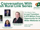 WATCH IRISH RURAL LINK'S WEBINAR ON JUST TRANSITION IN MIDLANDS