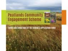 Peatlands Community Engagement Scheme for 2021 - Extension to Application Deadline – 4pm Friday, 4th December 2020