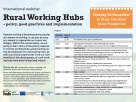 Longford County Council - International Rural Working Hubs Webinar