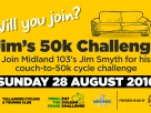 Jim's Couch to 50k Cycle Challenge