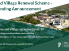 Minister Humphreys announces over €15.4 million in funding for 147 rural towns and villages under the Town & Village Renewal Scheme